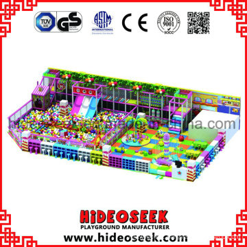 Candy Theme Indoor Playground with Ball Pit