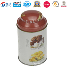 Metal Tin Can for Cookie, Biscuit