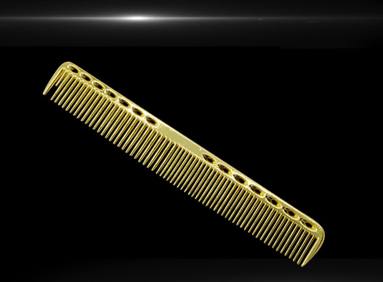 metal hair comb