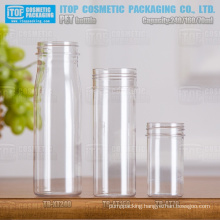 70ml 160ml and 240ml hot-selling special recommended shiny varnish eco-friendly and useful pet wide mouth bottle