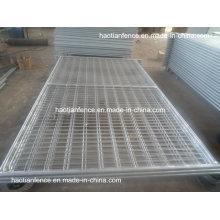 Clôture temporaire soudée galvanisée robuste de 3300 mm