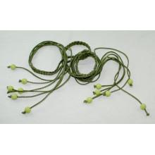 Леди одежды моды Ручная работа PU шнур плетеные ремни-KL0049