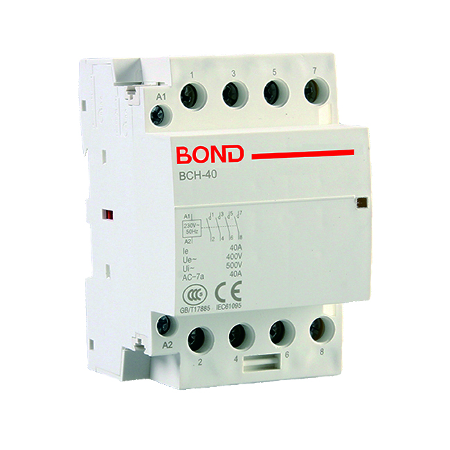 Bch 40 4p 40a Modular Ac Contactor