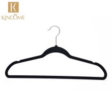 Factory wholesale cheap premium anti slip adult clothes suit velvet hanger