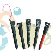 Mini paper pen with key chain