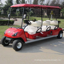 Electric Golf Car 6 Passenger Cart Electric Tour Vehicle (DG-C6)