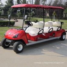 Электрический автомобиль гольфа 6 пассажиров Электрический экскурсионные автомобиль (ДГ-С6)