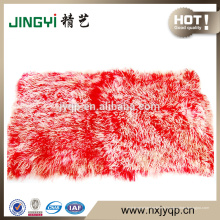 En gros de haute qualité plaques de fourrure mongole tibétain