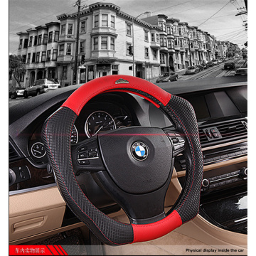Sport carbon fiber steering wheel cover