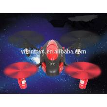 ¡NUEVA LLEGADA! YD-717 2.4g 4ch quadcopter del rc del ufo del rc del 4-eje con el girocompás vendedor caliente rc juega el helicóptero