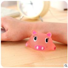 Tapete de ratón de silicona de dibujos animados, cómodo pulseras de ratón