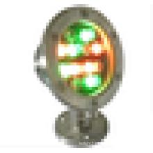 304 A lâmpada subaquática da associação do grau da luz IP68 do diodo emissor de luz do aço inoxidável 12w