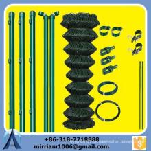 6ft billig gebrauchte PVC beschichtete galvanisierte Großhandel dekorative Kette Link Zaun