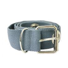 3.8cm width webbing Jeans belts with big eyelet-KL0027
