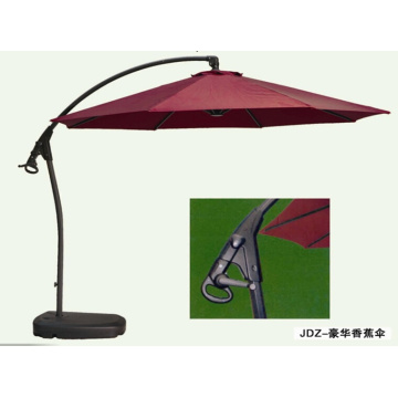 UV de buena calidad paraguas voladizo diseño único