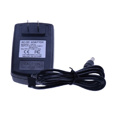 24V 1A US Plug Wall Charger Alimentation