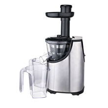 Stainless steel housing slow juicer