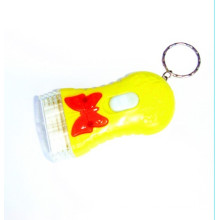 Plastic LED Key Chain Light (KC-43)