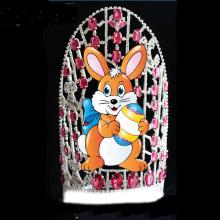 Large Custom Big Cute Rabbit Bunny Easter Crown