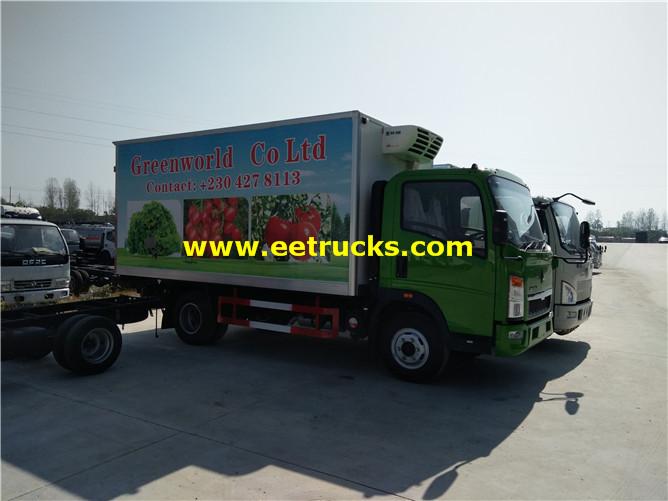 5 Ton Refrigerated Light Trucks