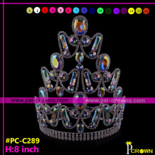 Newest!Pageant Crowns Tiaras rhinestones for sale