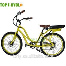 S2 green aluminio alumiunum marco eléctrico playa crucero bicicleta 2017