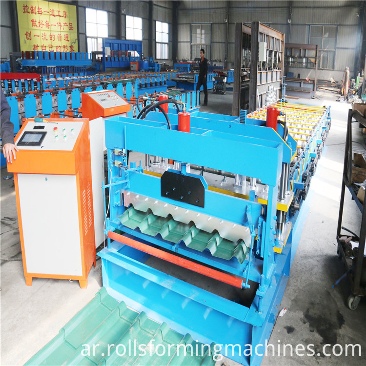 Popular Steel Tile Roll Forming Machine