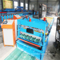 Rusia Glazed Steel Tile Roll Forming Machine