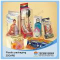 Caixa de embalagem de PVC transparente Caixa de boneca de plástico transparente