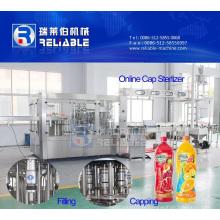 Machine de remplissage automatique de boisson de jus de fruit de petite bouteille d'animal familier
