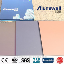 Painel composto de alumínio à prova de fogo à prova de fogo da categoria da largura B1 de Alunewall 2M / lados dobro da cor