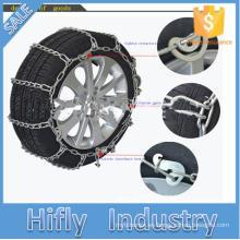 Cadenas de nieve HF-101 para automóviles de pasajeros Serie 28 Cadena de neumático de nieve para camión de metal con aleación de titanio