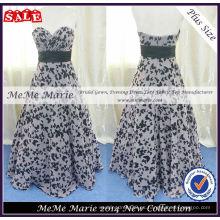 Más tamaño vestido de fiesta vestido de diseño de la mariposa BYE-14062
