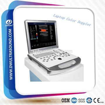 machine ultrasonique portative médicale d'ultrason de Doppler