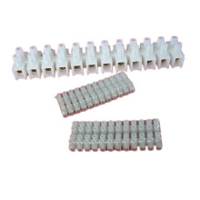 30A 16mm2 Copper Terminal Block Plastic Terminal Blocks H/ U/ V Type PA PP PE