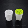 Custom Printed  Hot Sale Round Plastic Plant Pot Colorful Flower Pots