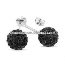 Wholesale wedding earrings charm Crystal ball earrings