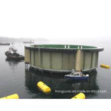 FRP Floating Fish Tank for Fish Farm