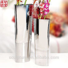 2016 New 304 Stainless Steel Abstract Modern Flower Vase Decoration Potiche