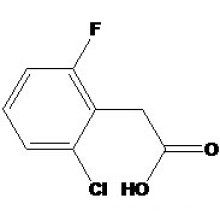 Acide 2-chloro-6-fluorophénylacétique N ° CAS: 37777-76-7