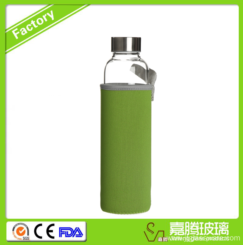 New Products Promotional Borosilicate Glass Tea Tumbler