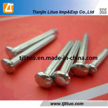 Steel 45 Material Fluted Shank Galvanized Concrete Steel Nails