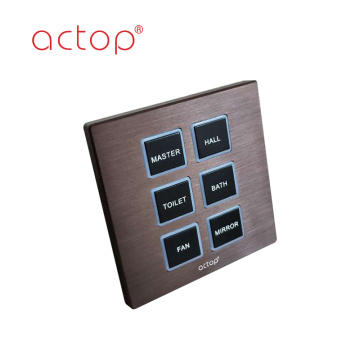 Smart Switch per hotel Wall automazione
