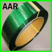 1608 banda de correas de animales en relieve en color verde