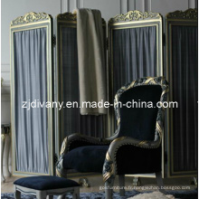 Français Style écran de bois de meubles de chambre à coucher (2801)