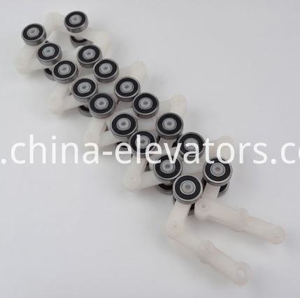 Schindler Escalator Rotating Chain 17 pair rollers Double Fork
