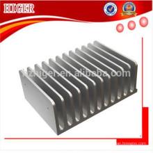 Dissipador de calor de alumínio extrudido 6061 T6