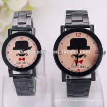 Fashion jewelry watch pair watches for lovers