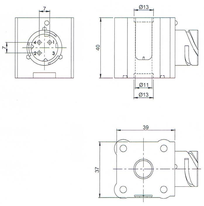 Wabco Type ABS Pressure Sensor Solenoid Coil
