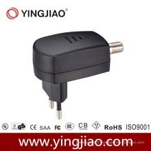 Adaptateur d'alimentation CC 6W pour CATV